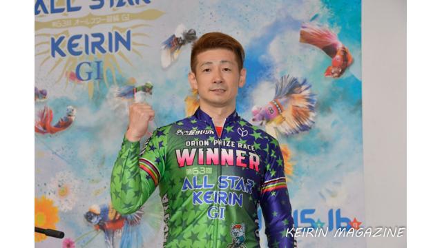 第63回オールスター競輪二日目レポート アルテミス賞レース優勝は梅川風子 オリオン賞は諸橋愛! 特別選抜予選は和田健太郎でした。三日目はシャイニングスターレースが行われます。