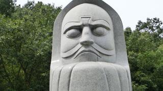怪奇! 岡山で発見された謎の石像群