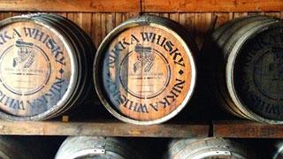 試飲もできるウィスキー工場