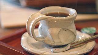 天然炭酸水で作る水出しコーヒー@週末カフェ「山びこ」