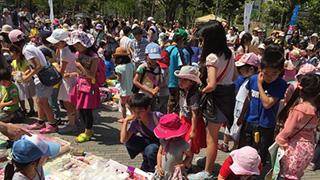 大人も子供も、集まれーっ!中野初の大規模フリマが開催されます。