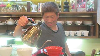 高確率で会えちゃう「ビトタケシ」さんが切り盛りする喫茶。