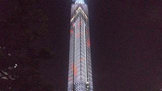 デジタル納涼!日本初のタワーアクアリウムとは?
