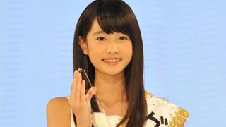 中学1年生の高橋ひかるさんが国民的美少女グランプリに決定!