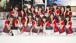 初代チームBメンバーの佐伯美香も参加!バイトAKBがファンの前で初めてアルバイト!!