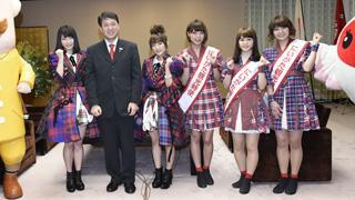 高橋みなみと横山由依らがNGT48劇場オープンを控える新潟県を表敬訪問。Negiccoも同席し「一緒に新潟を盛り上げていけたら」