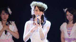 松井玲奈がSKE48の活動に幕!「次はかすみ草じゃなくてもっと大きな花を咲かせられれば」