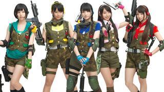 ミリタリーアイドル・転校少女歌撃団がガンシューティングゲームの主題歌&イメージキャラクターに決定!