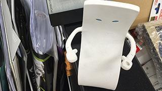 藤川Qの机をチラッとね(世界三大三代川)