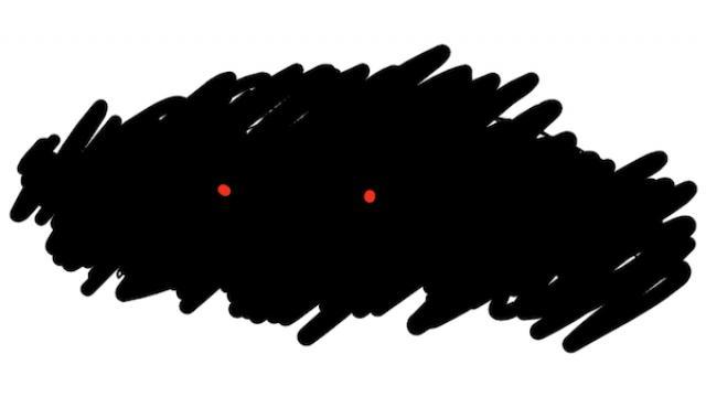 恐怖の月曜博物館。 収蔵品No.003 暗い怖い恐怖(藤川Q)