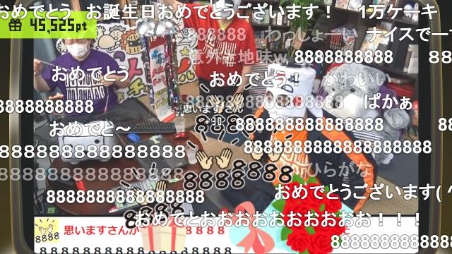 最高の誕生日に感謝! & 本日20:30よりau PAY マーケット ライブTVにタイチョー出演!