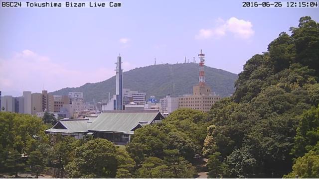 BSC24公式カメラ「眉山ライブカメラ」正式公開のお知らせ
