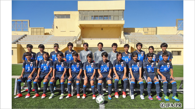【生中継】10/4(火) 24:50~ 『FIFA U-17 女子ワールドカップ ヨルダン 2016 パラグアイvs日本』