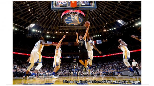【NBA16-17シーズン】ゴールデンステイト・ウォリアーズ vs ミルウォーキー・バックス