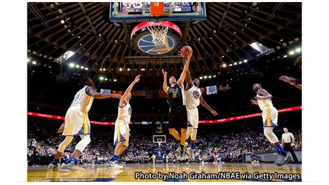 【NBA16-17シーズン】NBAプレーオフ2017 カンファレンスセミファイナル 第3戦 ゴールデンステイト・ウォリアーズ vs ユタ・ジャズ