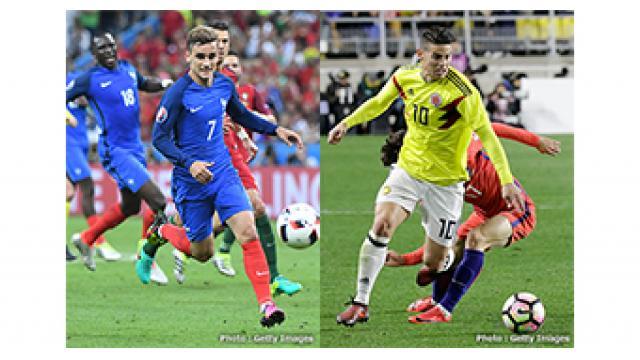 【生中継】3/23(金) 28:50~ 『サッカー国際親善試合2018 フランス vs コロンビア』