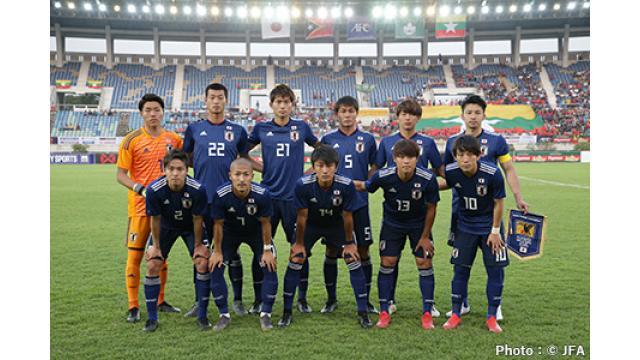 11/17(日) 19:00~ 『サッカーキリンチャレンジカップ2019 U-22日本代表 vs U-22コロンビア代表』