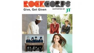 10/18(土)20:00~ RockCorps ~NE-YO , コブクロ, flumpool , May J.~
