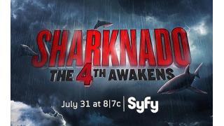 """人気サメ""""竜巻""""映画、続編「シャークネード4」が7月31日に公開!サブタイトルは「フォースの覚醒」"""