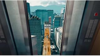 超高層ビルから紐なしバンジーしそうな子猫を救え!バンナム最新VRゲーム「高所恐怖SHOW」がシャレになってねぇぞおい