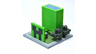 """これを小学生が作ったのか!? マイクラで家を作って3Dプリンタで出力する""""授業""""が小学校で実施、特設サイトで作品を公開中"""