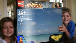 見える? バカには見えないレゴ「INVISIBLE JET」を組み立てたよ!