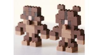 ベアッガイさん何やってんすか!? チョコレートで作られた「レゴブロック」