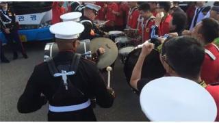 韓国軍とアメリカ海兵隊が激突! 緊迫した戦闘のようすを撮影した映像が公開