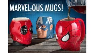 マーベル・ヒーローの生首マグカップで美味しいホットドリンクを飲まないか?