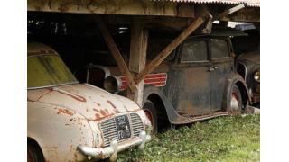 1930〜1950年代の激レア・ヴィンテージカー60台が発見される 総額は22億円以上になる見込み