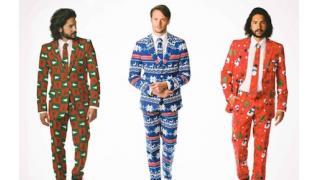 笑えないレベルで酷い「クリスマス・スーツ」が登場、聖夜以外に着る日が見つからない