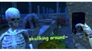 俺、ガイコツになります 墓場での自撮りが楽しめるブラウザゲーム「Spooky Selfies」