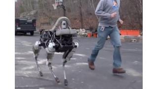 """あの""""奇妙な動き""""で笑いを誘った犬型ロボット「BigDog」が超進化!最新モデル「Spot」登場"""