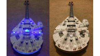 スターウォーズ「ミレニアム・ファルコン」を完全再現したベース&エレキギター