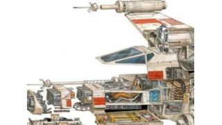 ものすごく濃厚な色気が感じられる「スターウォーズ」の兵器を丸裸にした解剖イラスト集