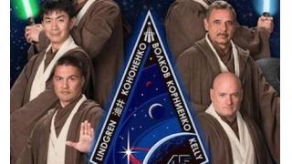 【コスプレ】 宇宙飛行士たちがジェダイの騎士に変身 NASA恒例のパロディポスター新作は「スターウォーズ」