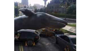 親方!空から大きなクジラが降ってきた!PC版「GTA5」MODの紹介映像がシュールすぎて笑える件
