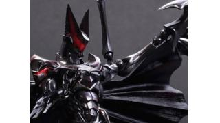ノムリッシュなバットマン、誕生! 「FF」デザイナー・野村哲也がアレンジしたフィギュアが発売決定