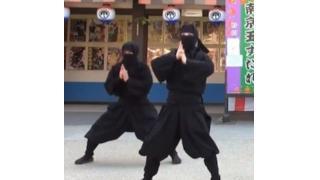 少しは忍べよ!東映太秦映画村の忍者たちが「手裏剣戦隊ニンニンジャー」EDを踊ってみた