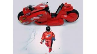ボディをLEGOブロックで再現した「AKIRA」金田バイクのミニチュア・ラジコン