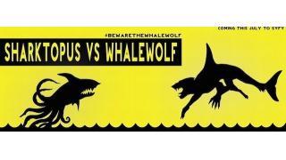 ショッピングモールが地獄絵図に シャチ×狼の融合体と戦う「シャークトパス VS ホエールウルフ」トレーラー公開
