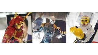 速水もこみちマン、サイボーグ忍者マン!国内外のアーティストたちがデザインした「アイアンマン」フィギュア38体を公開