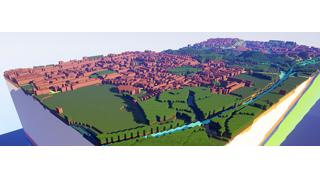 英国地質調査所が研究データを活用した3Dマップデータを「マインクラフト」向けに配布