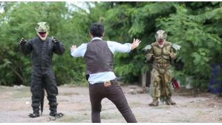 恐竜がイケメンにアッー!タイから届いた男だらけのジュラシック・ワールドごっこ映画「ジュラシック・ポルノ」