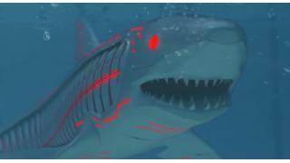 サメ映画「ロボシャーク」がアツイ! 宇宙から飛来した謎物体を食べたサメがロボットになって人々を襲う