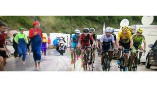 「ツール・ド・フランス」レース中にマリオ&ルイージ&ワリオが乱入する事案が発生