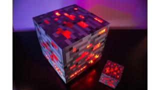 「マインクラフト」レッドストーンの原石を再現したブロック型デスクトップPCを作ってみた