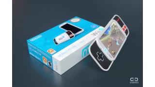 任天堂「WiiU」のゲームをシームレスに遊べる!? パッド内蔵スマートフォン「Wii mobile」