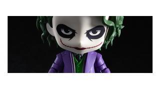 バットマンの宿敵「ダークナイト」ヒース・レジャーが演じた「ジョーカー」がねんどろいどになって登場、かわいい