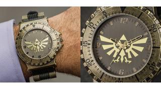 文字盤にハイラルの紋章が描かれた腕時計が「ゼルダの伝説」公式グッズとして発売